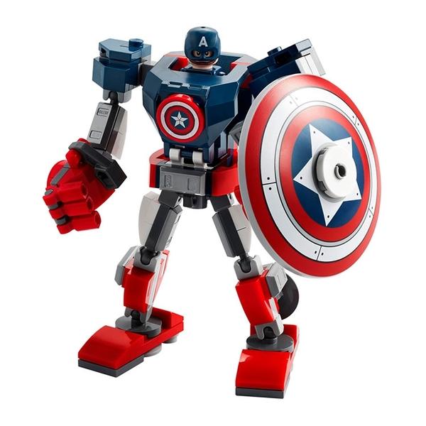 LEGO樂高 Marvel Avengers系列 Captain America Mech Armor_LG76168