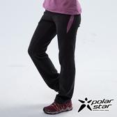 PolarStar 女 刷毛保暖長褲『粉紫/黑』 P18424 戶外│休閒│登山│機能衣│保暖衣│衛生衣│家居服