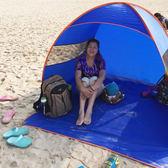 戶外帳篷 全自動兒童帳篷戶外3-4人家庭簡易賬逢快速開釣魚帳篷戶外防雨鵬 歐萊爾藝術館