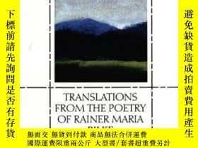 二手書博民逛書店Translations罕見From The Poetry Of