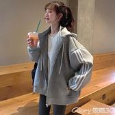 衛衣外套 衛衣女2021新款秋冬韓版寬鬆bf慵懶風加絨加厚外套潮 榮耀