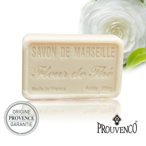 PROUVENCO法國原裝普羅旺詩香氛馬賽皂250G-茶花