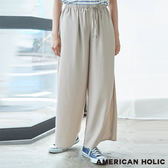 ❖ Summer ❖ 鬆緊綁帶舒適寬褲 - AMERICAN HOLIC