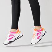 【一月大促現貨折後$2580】NIKE Wmns M2K Tekno 白 粉紅 老爹鞋 復古 皮革 女鞋 運動鞋 AO3108-104