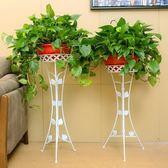 花架鐵藝落地室內客廳陽臺歐式多層綠蘿花盆架子省空間特價