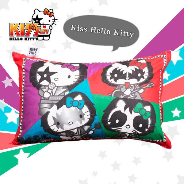 Hello Kitty 拼圖 午安枕 台灣製 伊尚厚生活美學
