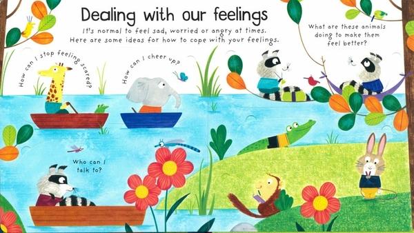 【關於感覺.五感體驗.幼兒科普書】WHAT ARE FEELINGS /VERY FIRST QUESTIONS AND ANSWERS /硬頁翻翻書