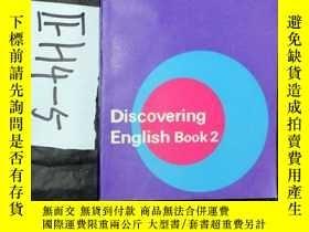 二手書博民逛書店英文原版;Discovering罕見English Book2Y