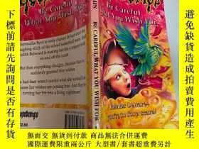 二手書博民逛書店be罕見careful what you wish for 小心你的願望Y200392