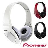 Pioneer SE-MJ721 (附收納袋) 時尚重低音耳罩式耳機 公司貨,附保卡,保固一年 原價1290