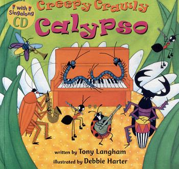 『說口好英文--第20週』- CREEPY CRDWLY CALYPSO /英文繪本附VCD《主題: 數數/ 昆蟲/ 樂器/歡唱》