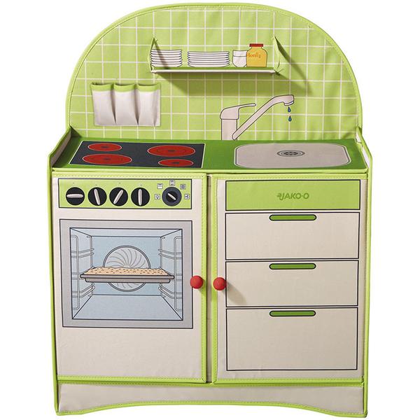 【下殺特惠】JAKO-O德國野酷-摺疊收納遊戲廚房