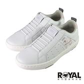 Royal Elastics Icon 白色 皮質 套入 運動休閒鞋 女款 NO.J0737【新竹皇家 96511-011】
