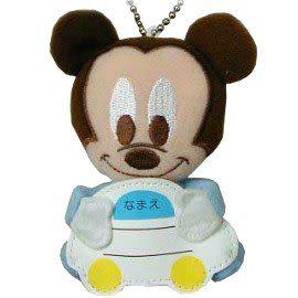 【波克貓哈日網】迪士尼吊飾 /名牌◇BABY米奇圖案◇《可愛立體設計》