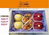 唐記水果【日本精緻禮盒】一次享受2種蘋果及溫室金桔的美味*免運費*
