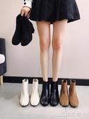 靴子馬丁靴女時尚復古粗跟高跟鞋短筒方頭女短靴百搭靴子女 歐韓流行館