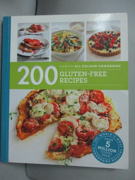 【書寶二手書T4/餐飲_LJR】200 Gluten-Free Recipes