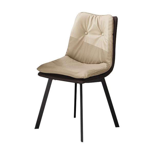 麥爾斯餐椅31駝(21HY2/B402-02)/H&D東稻家居