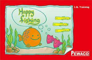 Pewaco(1004)Happy Fishing快樂釣魚-空間、數學、邏輯之益智桌遊