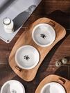 寵物碗 貓碗狗盆寵物雙碗保護頸椎陶瓷護頸食盆【匯美優品】