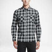 Hurley DRI-FIT ROWEN LONG SLEEVE SHIRT-襯衫-男(格紋黑)