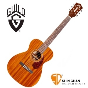 美國經典品牌 Guild M-120 全單板吉他(OM桶身)附Guild原廠吉他袋/軟Case 總代理公司貨