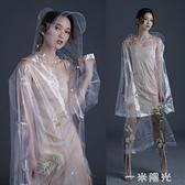 時尚透明雨衣長款全身防暴雨電動車雨披男成人雨衣電瓶車單人女款 一米陽光