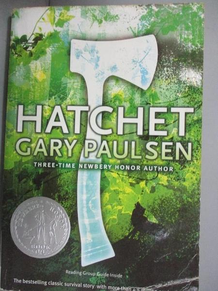 【書寶二手書T8/原文小說_COQ】Hatchet_Paulsen, Gary