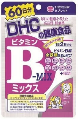 日本DHC 維他命B群 60日份 120粒袋裝[寶寶小劇場][現貨不必等]