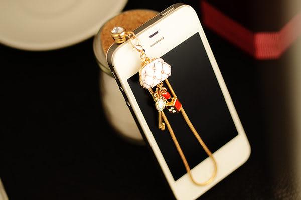 免運 iphone 4 4s HTC Samsung 3.5MM韓國 小清新時尚包 耳機塞