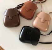 貝殼包2020新款韓國東大門復古簡約小眾設計迷你貝殼包馬蹄包側背斜背包 交換禮物