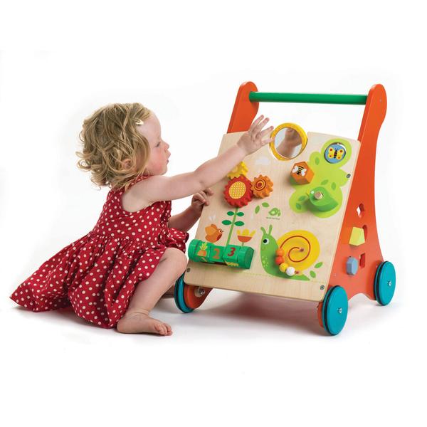 【美國Tender Leaf Toys】多功能益智學步車(嬰幼兒助步推車)