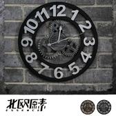 【北歐原素】復古浪漫工業風/復古懷舊羅馬掛鐘(兩款可選)(LS0097)-YKS