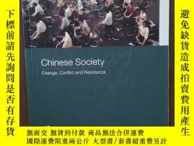 二手書博民逛書店Chinese罕見Society Change, Conflict And Resistance (Asia s