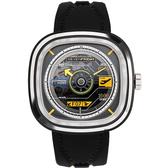 SEVENFRIDAY RUNWAY 限量航空 自動上鍊機械錶 T3/02