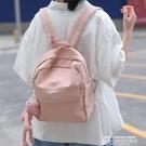 帆布後背包 花曦家 後背包女夏天小型書包迷你小包ins風百搭小號帆布包小背包 新品