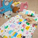 睡墊組 / 兒童標準【Sweet home甜蜜的家】幼兒專用睡墊三件組  高密度磨毛布 戀家小舖台灣製ABF088