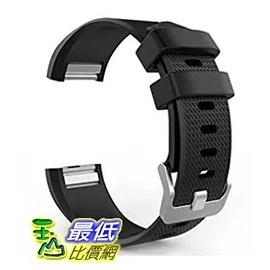 [美國直購] MoKo Fitbit Charge 2 手環 錶帶 Soft Silicone Adjustable Replacement Sport Strap Band