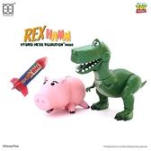 HEROCROSS HMF #080 Chubby 玩具總動員4 抱抱龍與火腿豬 合金可動公仔 COCOS FG680