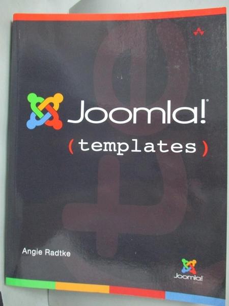【書寶二手書T6/電腦_JMH】Joomla! Templates_Radtke, Angie