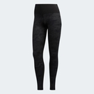 L- adidas BT HR L CAMO 女裝 長褲 緊身 慢跑 訓練 拉鍊口袋 透氣 舒適 黑 EA3366