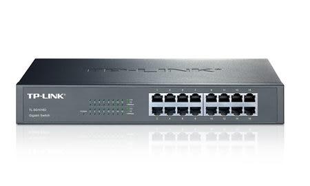 ◤全新品 含稅 免運費◢ TP-LINK TL-SG1016D 16 埠 Gigabit 交換器 (鐵殼)