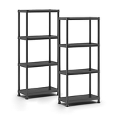 (組)KETER Plus Shelf 層架H135W60D30CM-2入