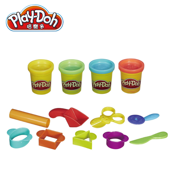 Play-Doh培樂多-培樂多黏土入門創作遊戲組