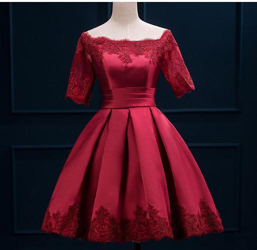 (45 Design) 洋裝禮服婚禮洋裝伴娘禮服洋裝小禮服中長禮服小洋裝蕾絲洋裝媽媽禮服8