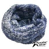 【Polarstar】造型保暖圍巾『深藍』P18624 休閒│戶外│保暖│圍脖│圍巾 │頭巾│冬帽│毛帽