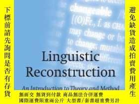 二手書博民逛書店Linguistic罕見Reconstruction: An I