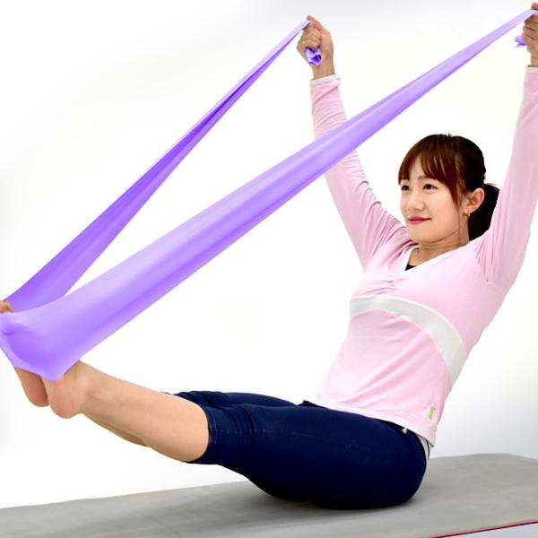 加長150CM彼拉提斯帶.韻律瑜珈帶彈力帶.拉力帶彈力繩拉力繩.芭蕾拉筋帶Pilates伸展帶
