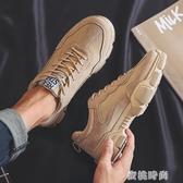 2020冬季新款英倫風馬丁靴男工裝靴低筒潮鞋韓版百搭皮鞋休閒短靴8/04