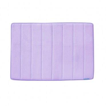 Microdry 舒適記憶棉地墊43.2x61cm 薰衣草紫